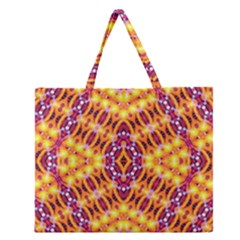 SOLAR DIAL Zipper Large Tote Bag by MRTACPANS