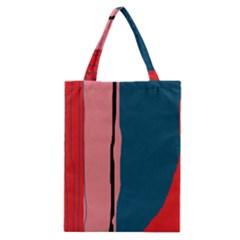 Decorative Lines Classic Tote Bag by Valentinaart