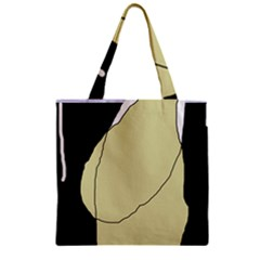 Elegant Design Zipper Grocery Tote Bag by Valentinaart