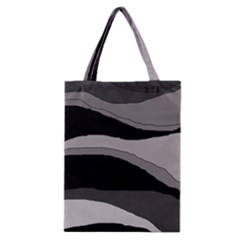 Black And Gray Design Classic Tote Bag