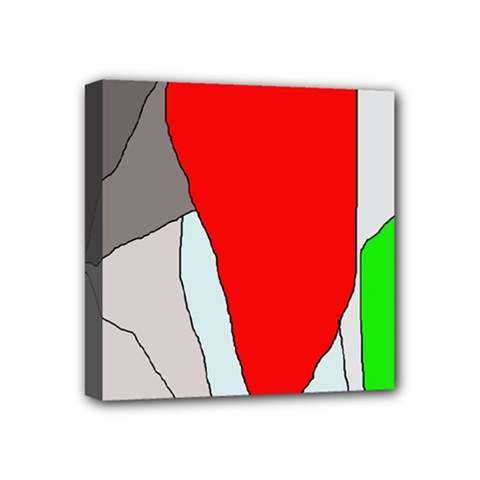 Colorful Abstraction Mini Canvas 4  X 4  by Valentinaart