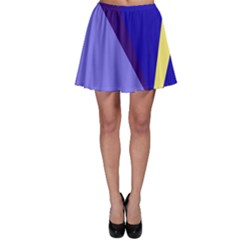 Geometrical Abstraction Skater Skirt by Valentinaart