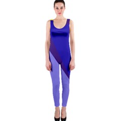 Geometrical Abstraction Onepiece Catsuit by Valentinaart