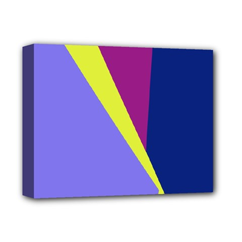 Geometrical Abstraction Deluxe Canvas 14  X 11  by Valentinaart