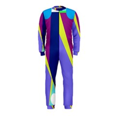 Geometrical Abstraction Onepiece Jumpsuit (kids) by Valentinaart