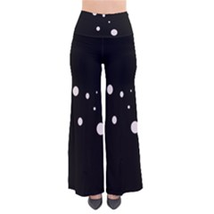 White Dots Pants by Valentinaart
