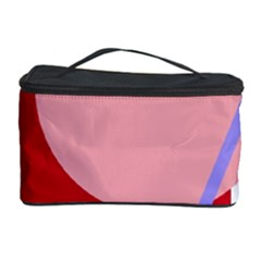 Decorative Geomeric Abstraction Cosmetic Storage Case by Valentinaart
