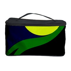 Falling  Ball Cosmetic Storage Case by Valentinaart