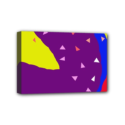 Optimistic Abstraction Mini Canvas 6  X 4  by Valentinaart