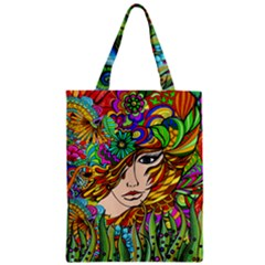 Garden Woman Classic Tote Bag by DryInk