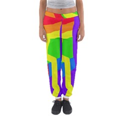 Rainbow Abstraction Women s Jogger Sweatpants