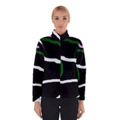 Decorative Lines Winterwear by Valentinaart