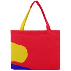 Colorful Abstraction Mini Tote Bag by Valentinaart
