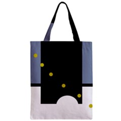 Abstract Design Zipper Classic Tote Bag by Valentinaart