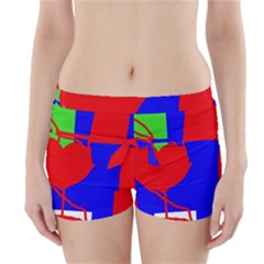 Abstract Hart Boyleg Bikini Wrap Bottoms
