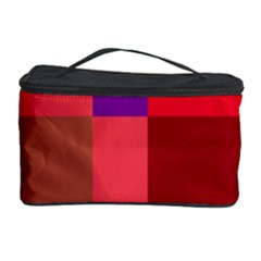 Colorful Abstraction Cosmetic Storage Case by Valentinaart