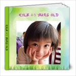 Kylie 4-5 years old - 8x8 Photo Book (20 pages)