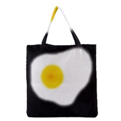 Egg Grocery Tote Bag by Valentinaart