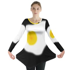 Egg Long Sleeve Tunic  by Valentinaart