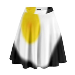 Egg High Waist Skirt by Valentinaart