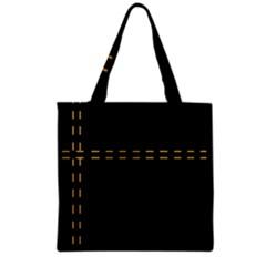 Elegant Design Grocery Tote Bag by Valentinaart