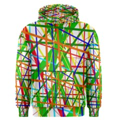Colorful Lines Men s Pullover Hoodie