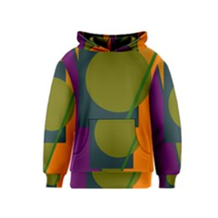 Geometric abstraction Kids  Pullover Hoodie
