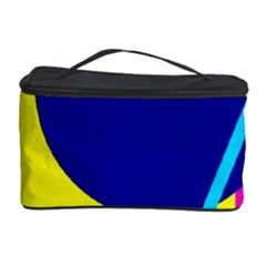 Colorful Geometric Design Cosmetic Storage Case by Valentinaart