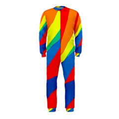 Colorful abstract design OnePiece Jumpsuit (Kids) by Valentinaart