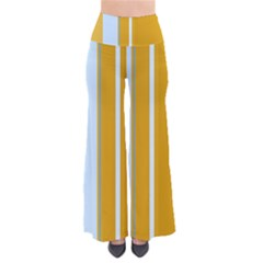 Yellow Elegant Lines Pants by Valentinaart
