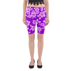 Hawaiian Sunset Yoga Cropped Leggings