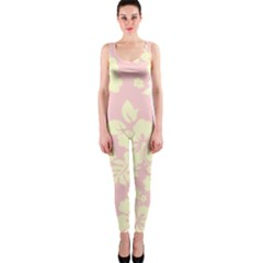 Pastel Hawaiian Onepiece Catsuit by AlohaStore