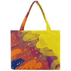 Colorful Abstract Pattern Mini Tote Bag by Valentinaart