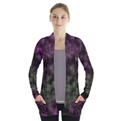 Organic      Women s Open Front Pockets Cardigan by LalyLauraFLM