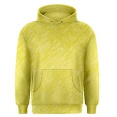 Yellow Pattern Men s Pullover Hoodie by Valentinaart