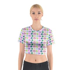 Crystals and Gems Cotton Crop Top by rachelecateyes