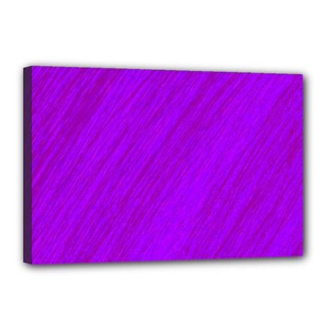 Purple Pattern Canvas 18  X 12  by Valentinaart