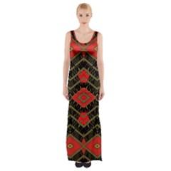 Fiction Maxi Thigh Split Dress by MRTACPANS