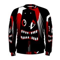 Zombie Face Men s Sweatshirt by Valentinaart