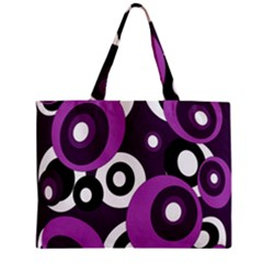 Purple Pattern Mini Tote Bag by Valentinaart
