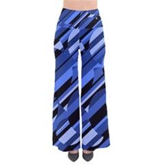 Blue Pattern Pants by Valentinaart