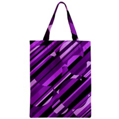 Purple Pattern Classic Tote Bag