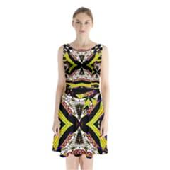 I Love Thishh Sleeveless Waist Tie Dress