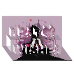 Make You Dirty Best Wish 3d Greeting Card (8x4)  by lvbart
