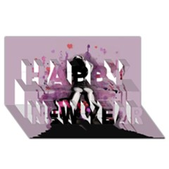 Make You Dirty Happy New Year 3d Greeting Card (8x4)