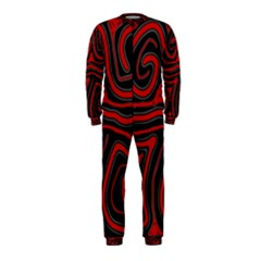Red and black abstraction OnePiece Jumpsuit (Kids) by Valentinaart
