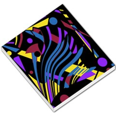 Decorative Abstract Design Small Memo Pads by Valentinaart