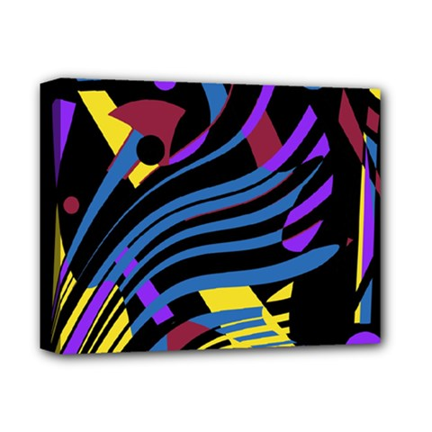 Decorative Abstract Design Deluxe Canvas 14  X 11  by Valentinaart