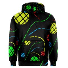 Colorful Design Men s Pullover Hoodie by Valentinaart