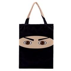 Ninja Classic Tote Bag by Valentinaart